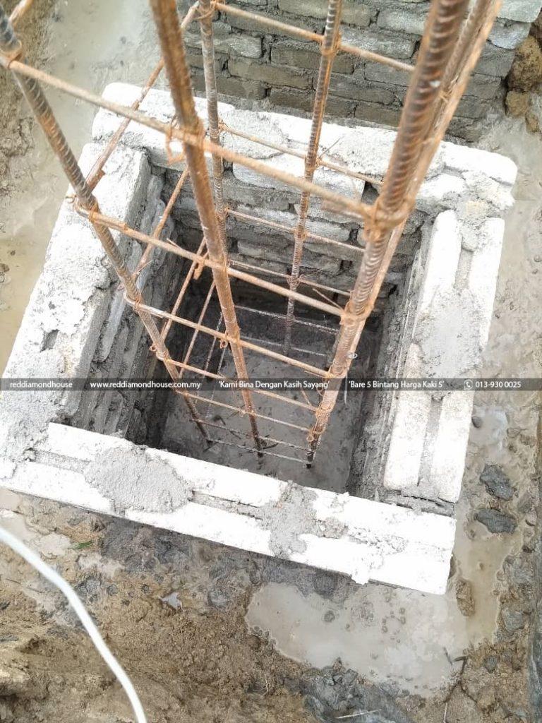 Bina Rumah Atas Sendiri Column Stump 02