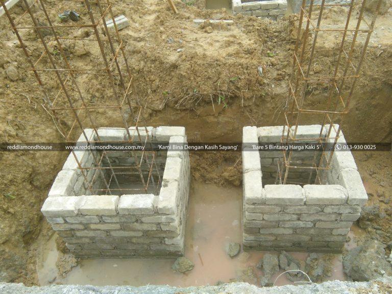 Bina Rumah Atas Sendiri Column Stump 04