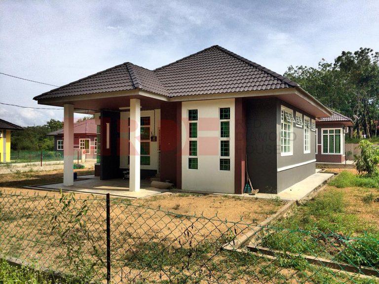 Bina Rumah Atas Tanah Sendiri Batu 23 Machang 01 02
