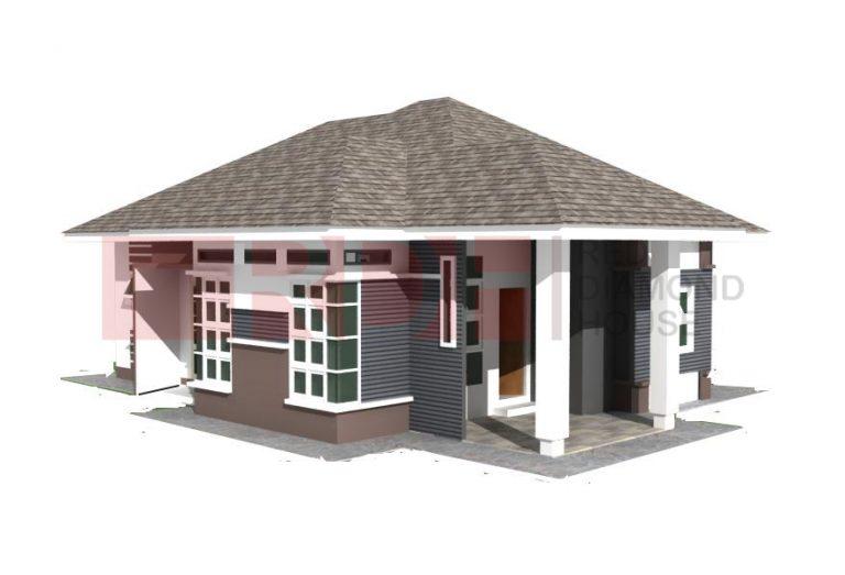 Bina Rumah Atas Tanah Sendiri Batu 23 Machang 01 05