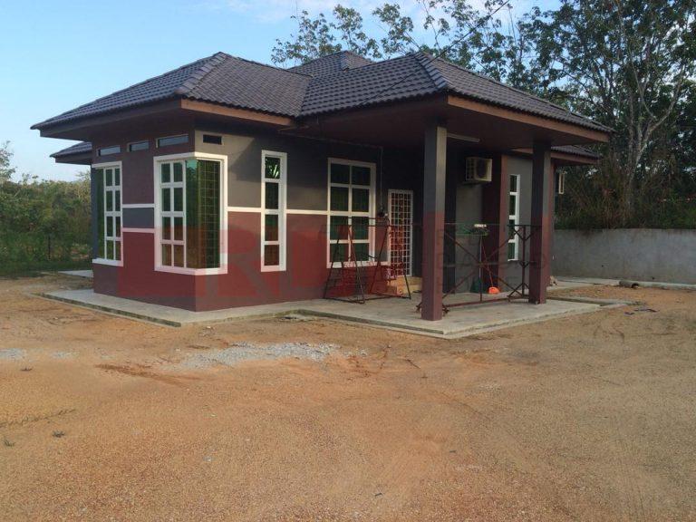 Bina Rumah Atas Tanah Sendiri Batu 23 Machang 01 06
