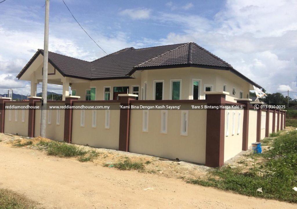 Bina Rumah Atas Tanah Sendiri Batu 25 Machang 03 02