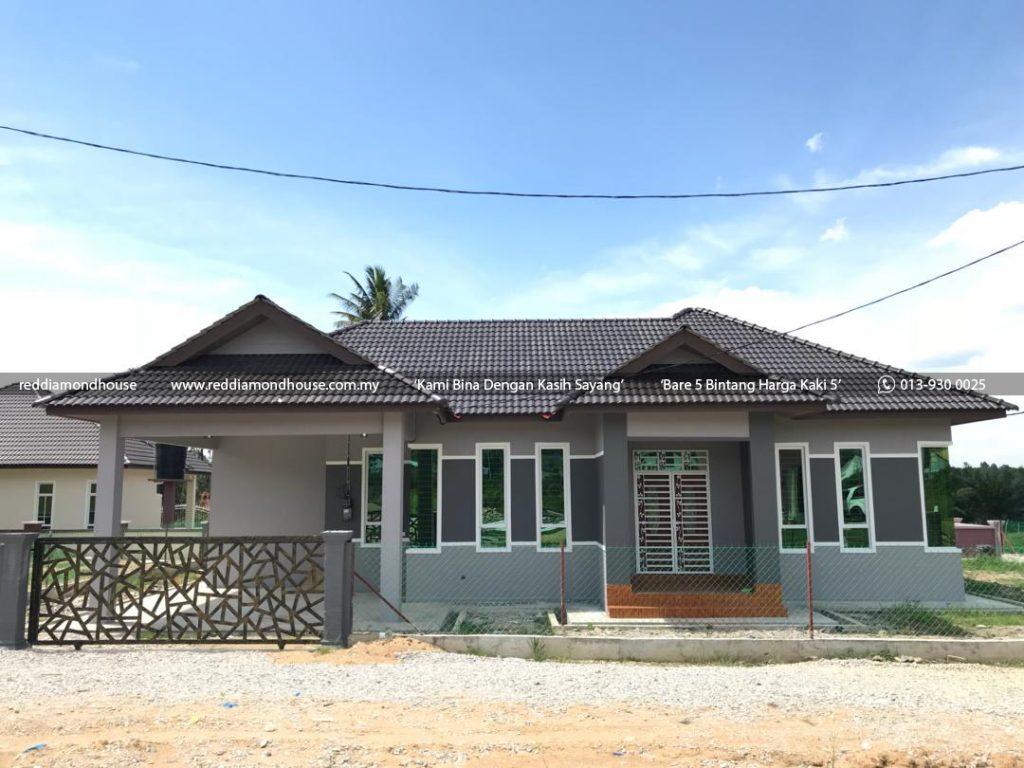 Bina Rumah Atas Tanah Sendiri Batu 25 Machang 03