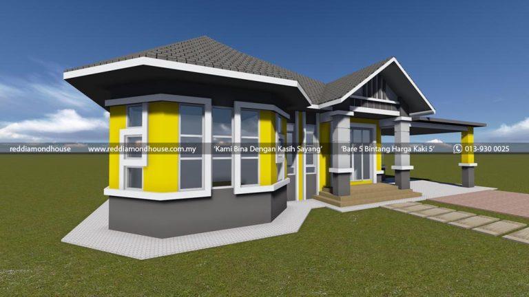 Bina Rumah Atas Tanah Sendiri Batu 25 Machang 05 02