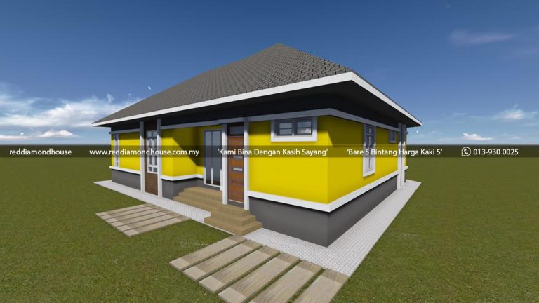 Bina Rumah Atas Tanah Sendiri Batu 25 Machang 05 03