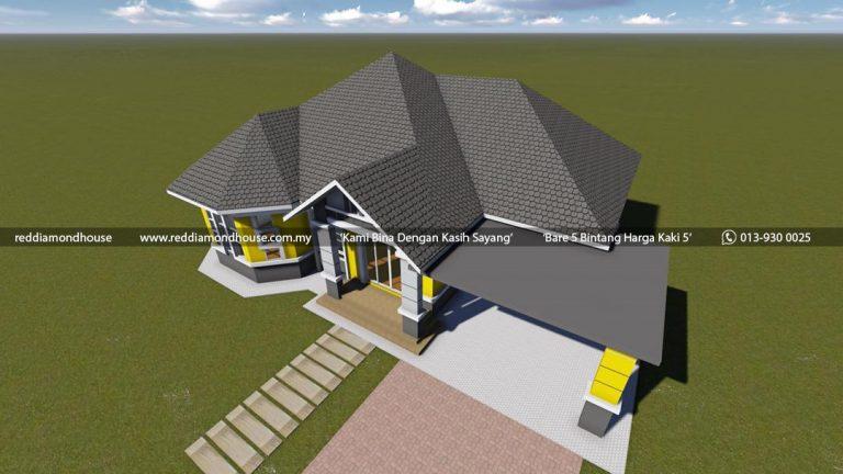 Bina Rumah Atas Tanah Sendiri Batu 25 Machang 05 04