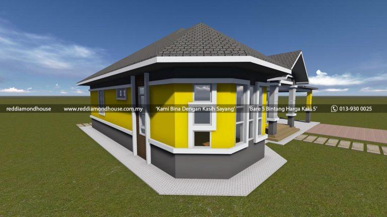 Bina Rumah Atas Tanah Sendiri Batu 25 Machang 05 05