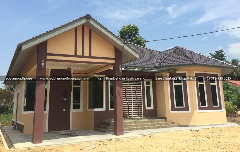 Bina Rumah Atas Tanah Sendiri Jabi Besut 01