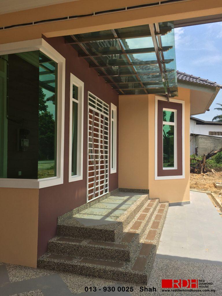 Bina Rumah Atas Tanah Sendiri Jabi Besut 14