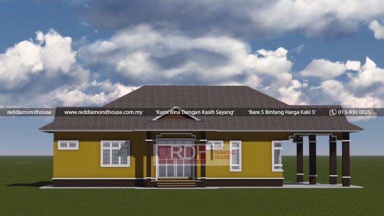 Bina Rumah Atas Tanah Sendiri Jeli 3D 04