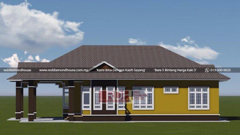 Bina Rumah Atas Tanah Sendiri Jeli 3D 05