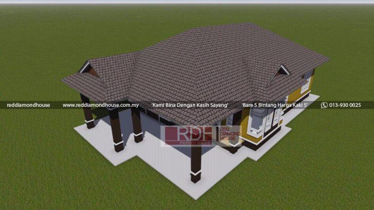 Bina Rumah Atas Tanah Sendiri Jeli 3D 07