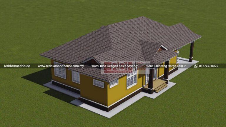 Bina Rumah Atas Tanah Sendiri Jeli 3D 09