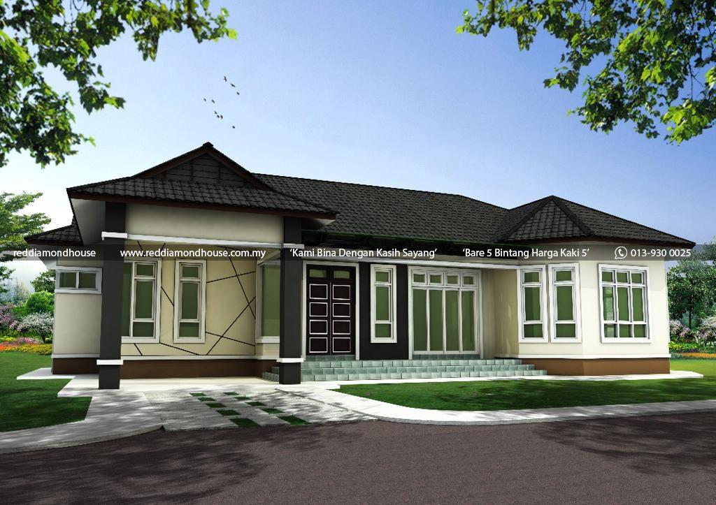 Bina Rumah Atas Tanah Sendiri Kelewek 3D 02