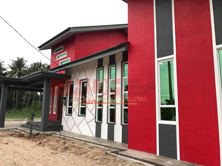 Bina Rumah Atas Tanah Sendiri Kg Alor Peroi 02