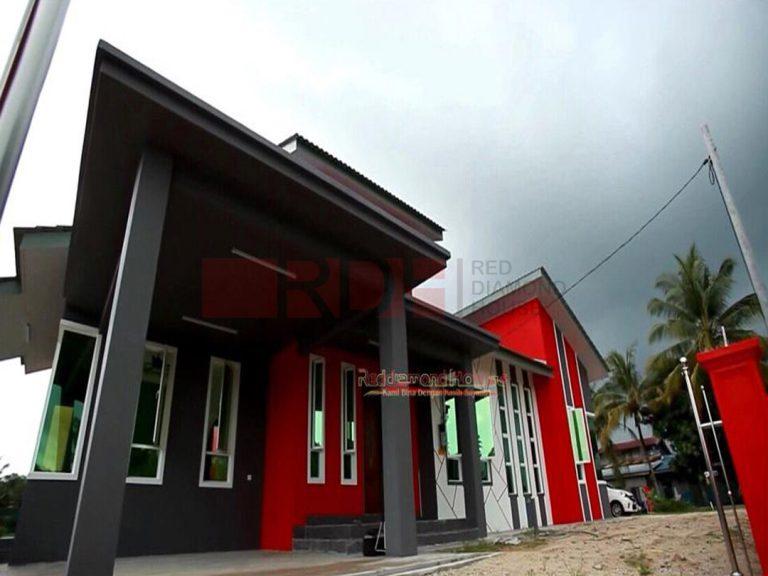 Bina Rumah Atas Tanah Sendiri Kg Alor Peroi 03