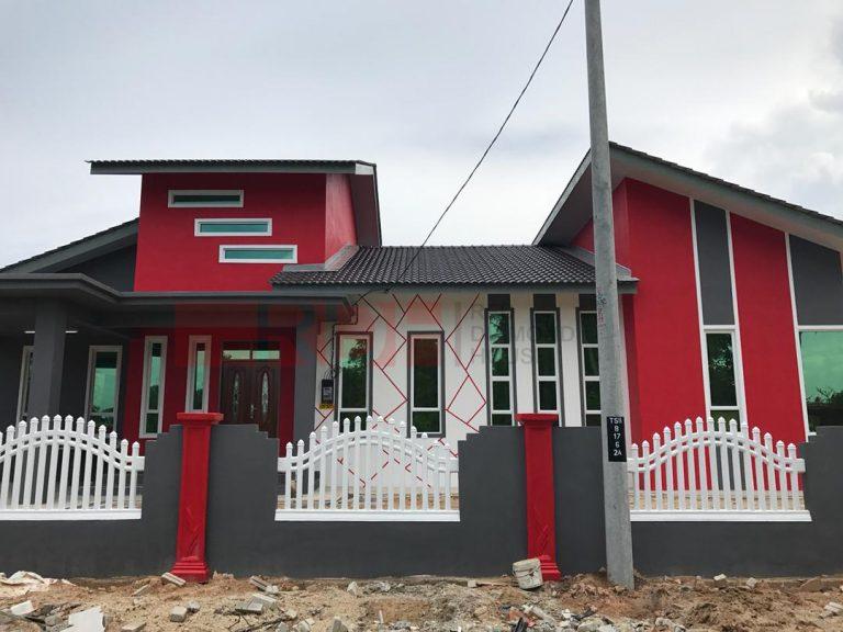 Bina Rumah Atas Tanah Sendiri Kg Alor Peroi 04