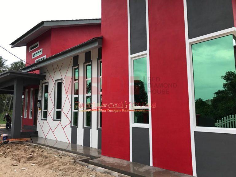 Bina Rumah Atas Tanah Sendiri Kg Alor Peroi 05