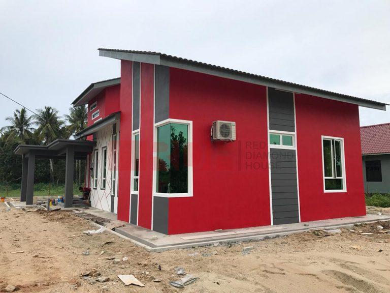 Bina Rumah Atas Tanah Sendiri Kg Alor Peroi 06