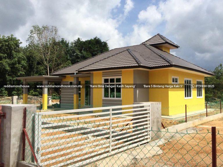Bina Rumah Atas Tanah Sendiri Labok Machang 02