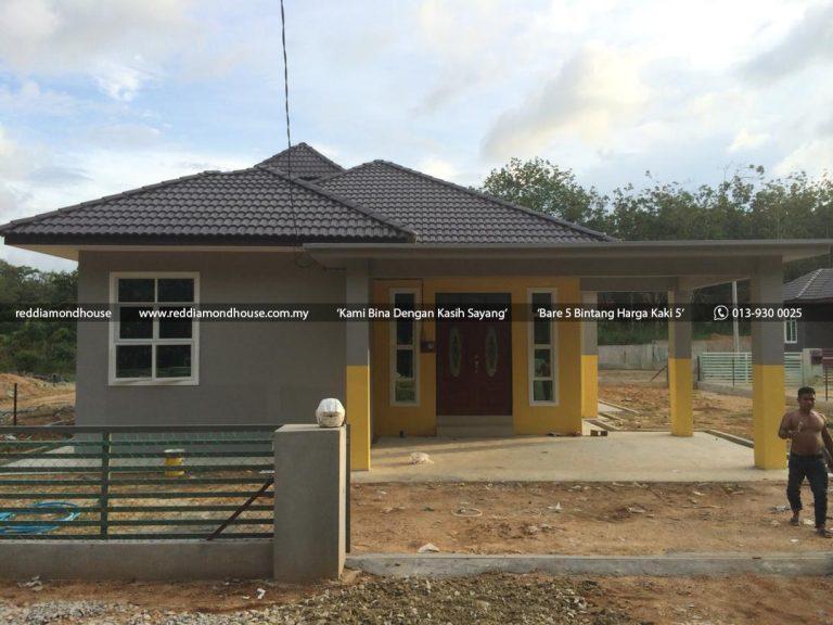 Bina Rumah Atas Tanah Sendiri Labok Machang 04