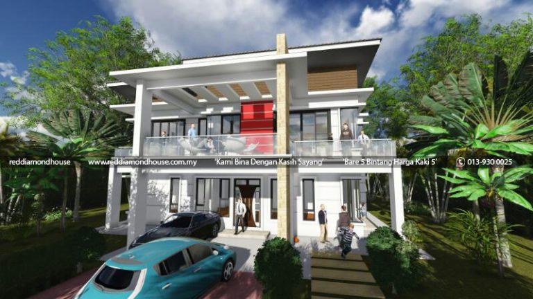 Bina Rumah Atas Tanah Sendiri Machang 02