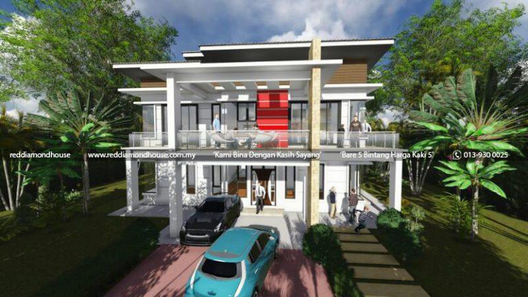 Bina Rumah Atas Tanah Sendiri Machang 03