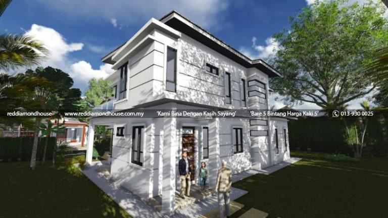Bina Rumah Atas Tanah Sendiri Machang 05
