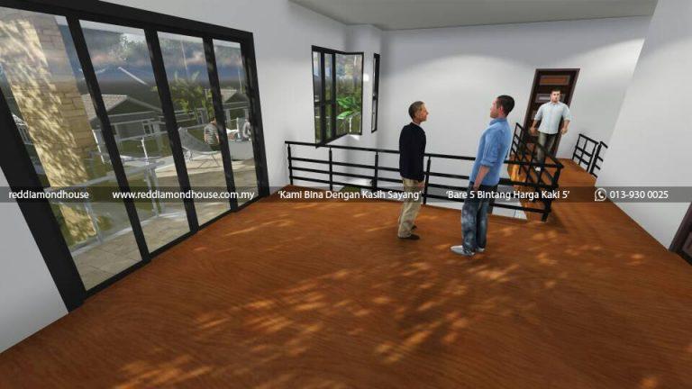 Bina Rumah Atas Tanah Sendiri Machang 07