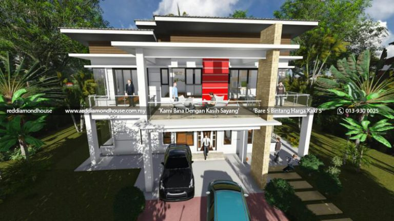 Bina Rumah Atas Tanah Sendiri Machang 08
