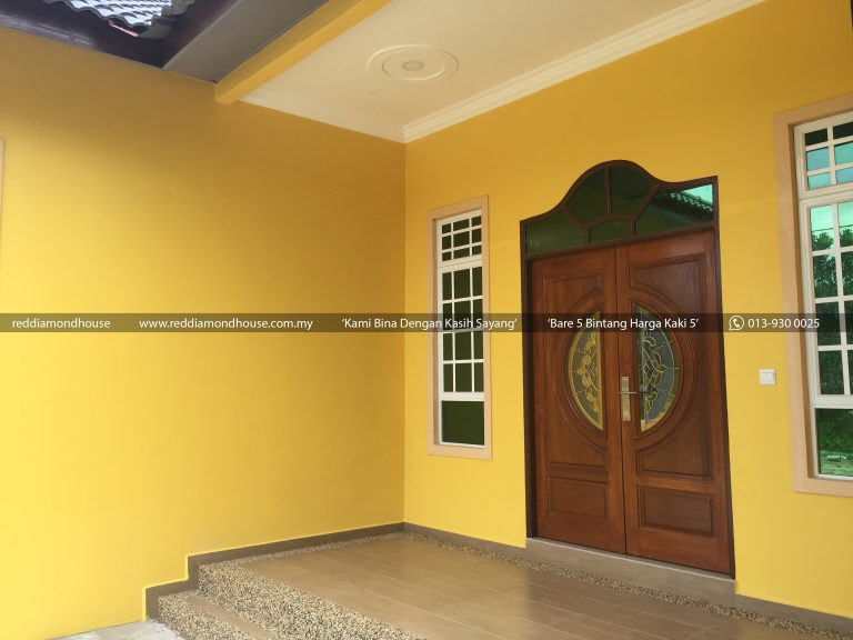 Bina Rumah Atas Tanah Sendiri Pasir Akar 25