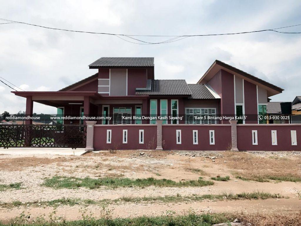 Bina Rumah Atas Tanah Sendiri Reddiamondhouse Machang