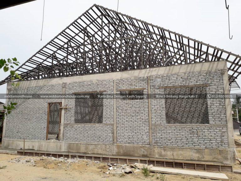 Bina Rumah Atas Sendiri bumbung 02