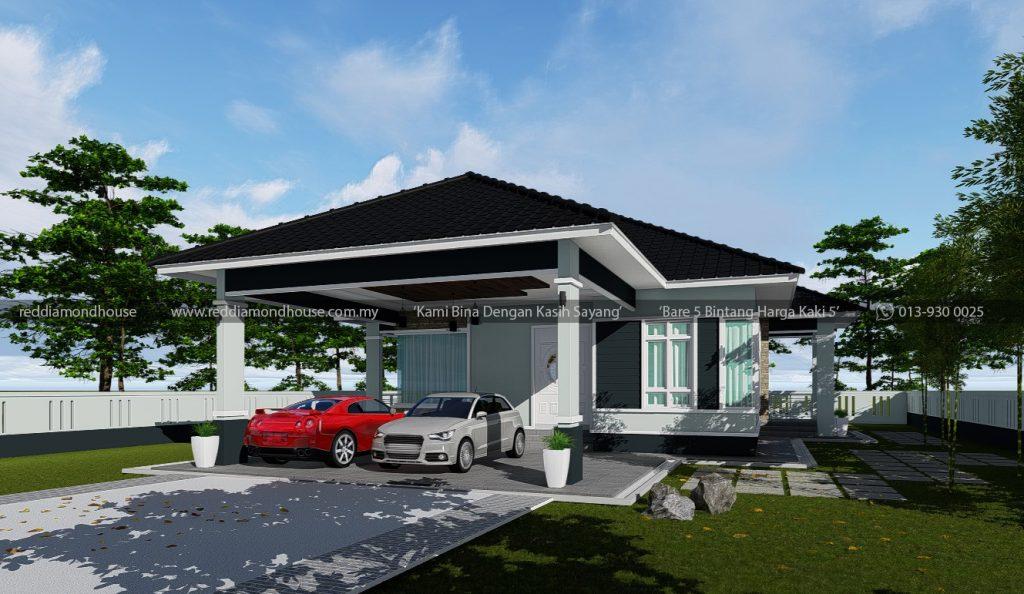 Bina Rumah Atas Tanah Sendiri AZ003012019 3D01