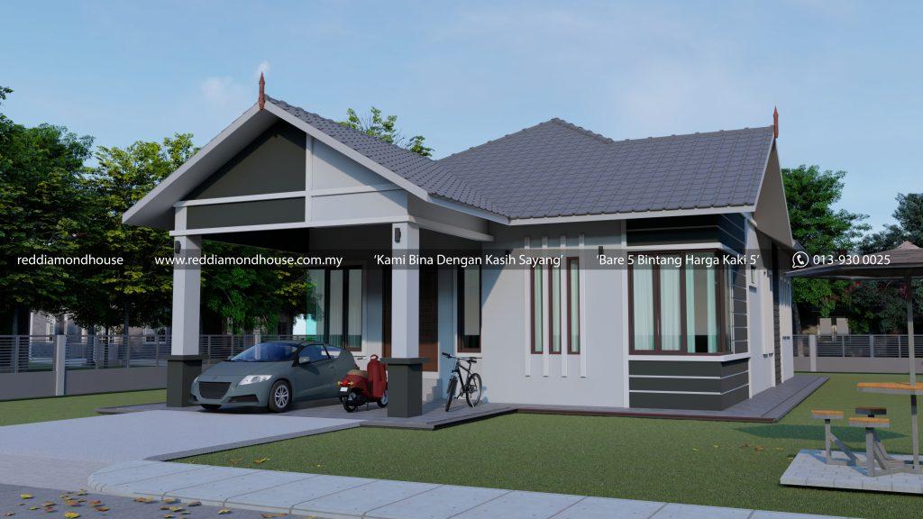 Bina Rumah Atas Tanah Sendiri AZ005012019 3D01