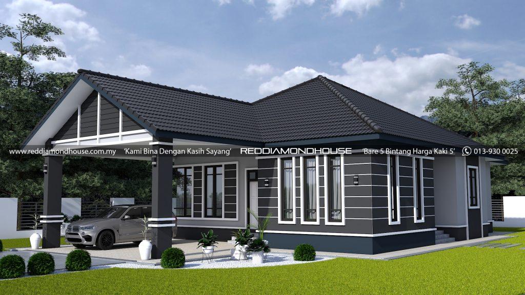 Bina Rumah Atas Tanah Sendiri AZ005022019 3D02