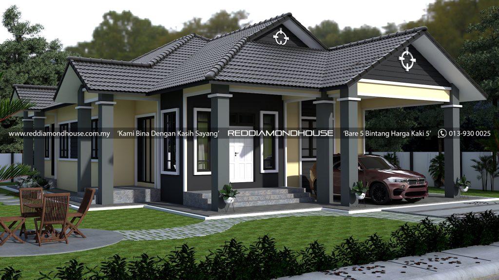 Bina Rumah Atas Tanah Sendiri AZ006022019 3D01
