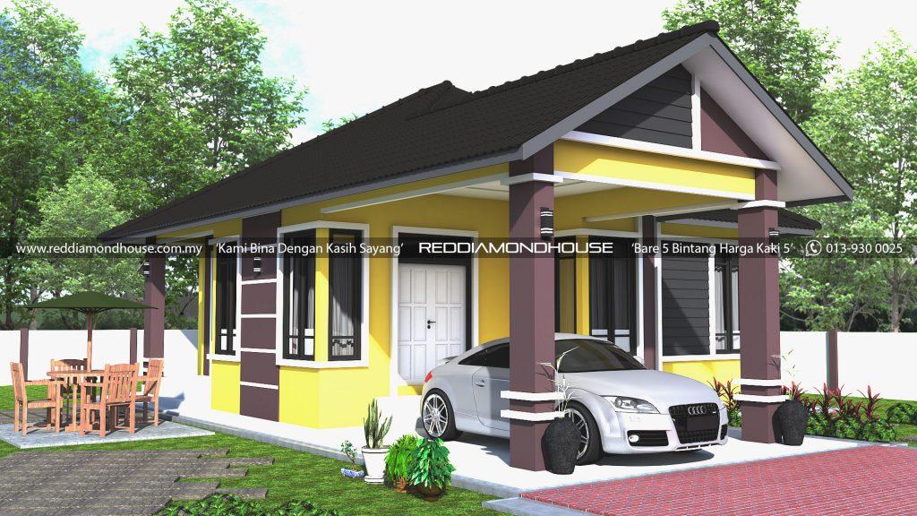 Bina Rumah Atas Tanah Sendiri AZ007022019 3D01