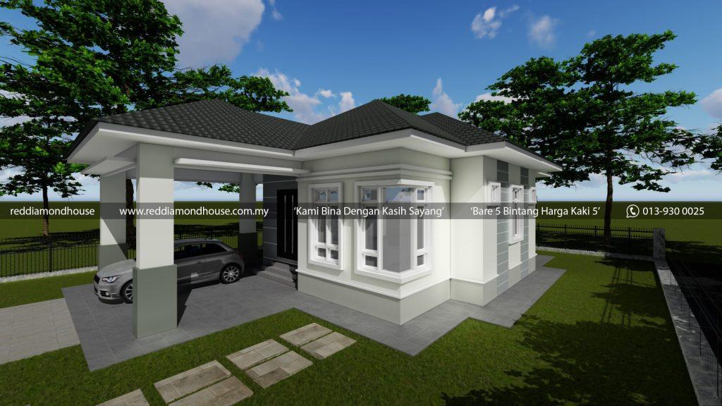 Bina Rumah Atas Tanah Sendiri AZ008122018 3D01