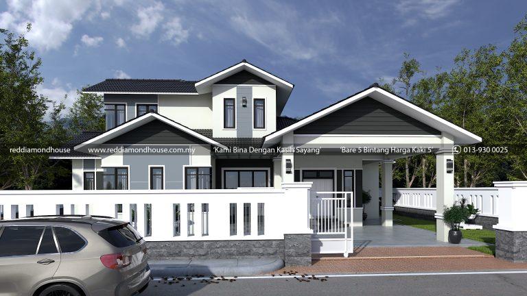 Bina Rumah Atas Tanah Sendiri Jeli 3d 01