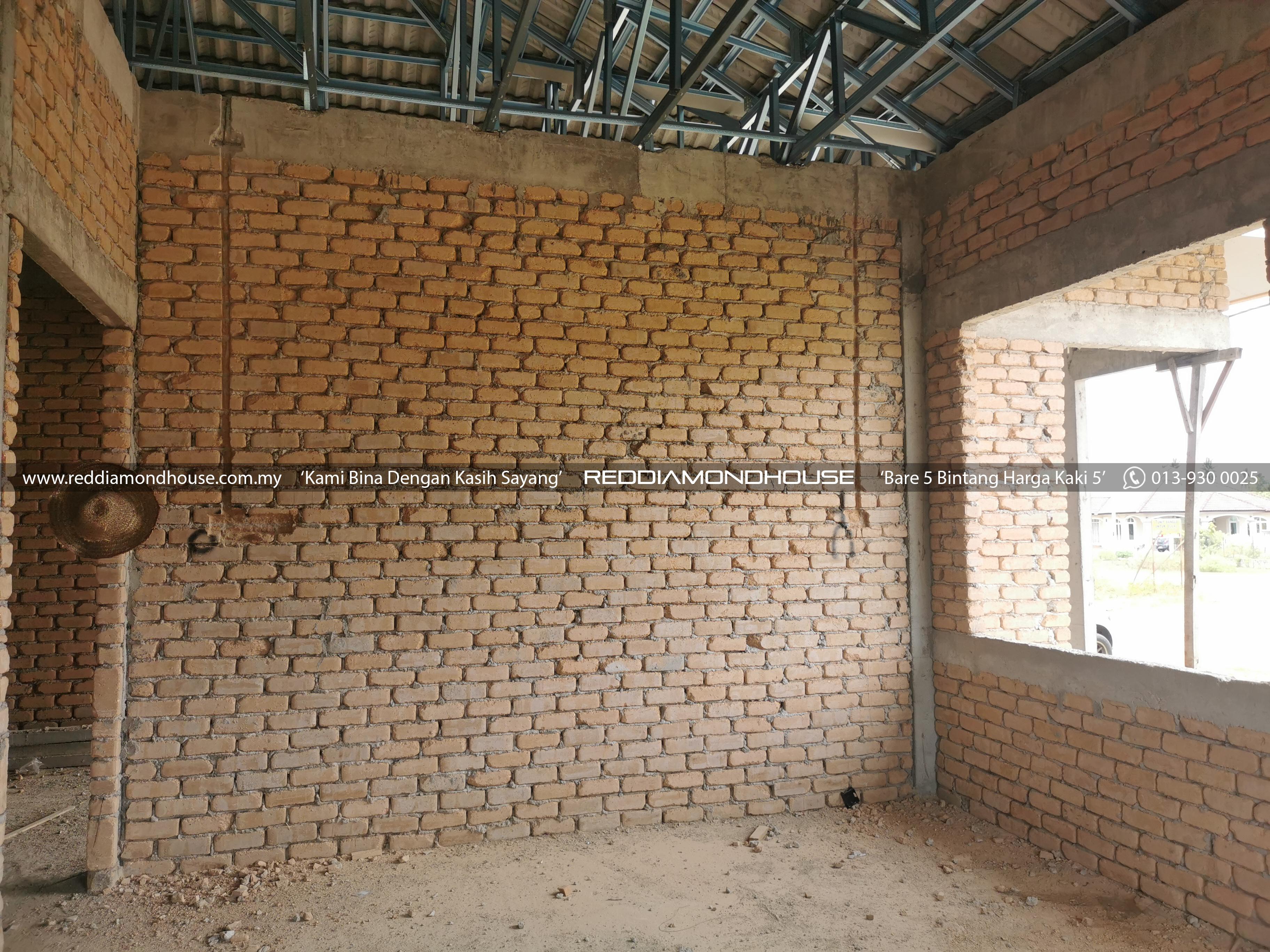 Bina Rumah Atas Sendiri Bata Tanah 01