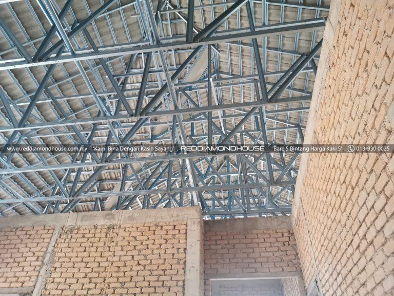 Bina Rumah Atas Sendiri bumbung 20