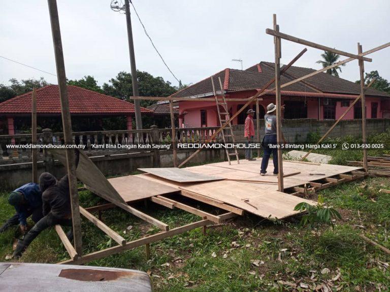 Bina Rumah Atas Tanah Sendiri Kerja Awalan 02