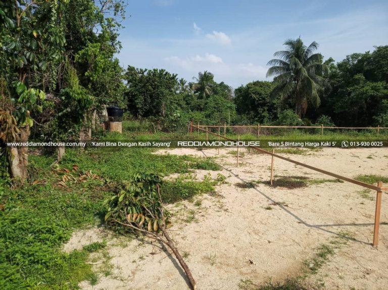 Bina Rumah Atas Tanah Sendiri Kerja Awalan 05