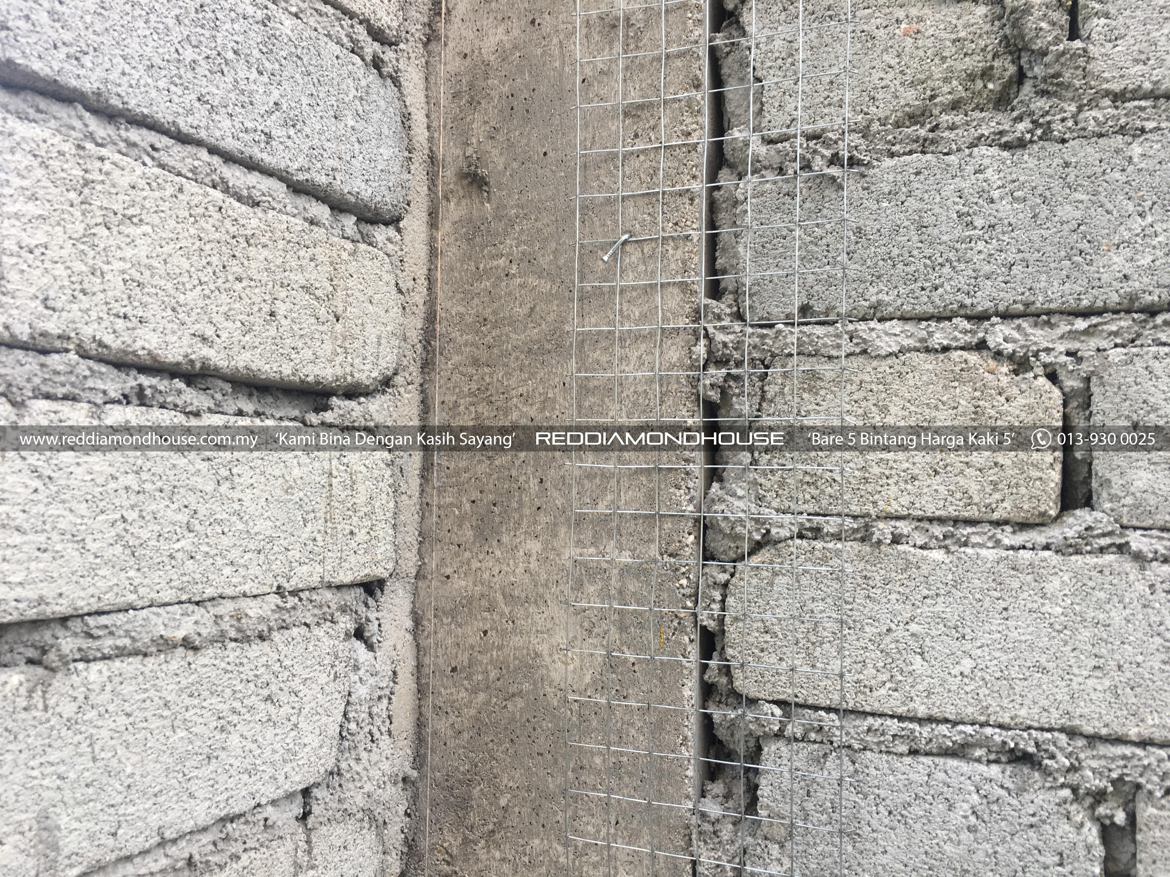 Bina Rumah Atas Sendiri Dinding 11