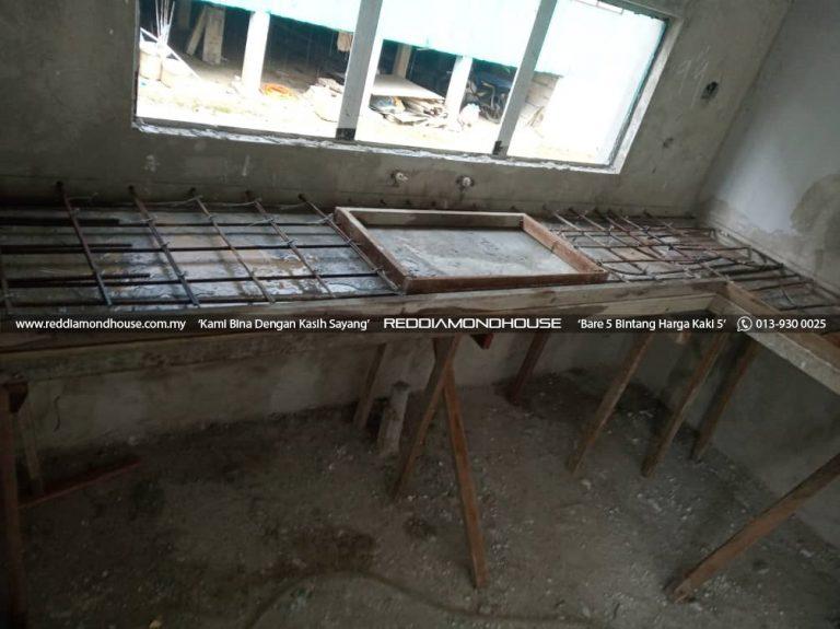 Bina Rumah Atas Sendiri Struktur Table Top 01