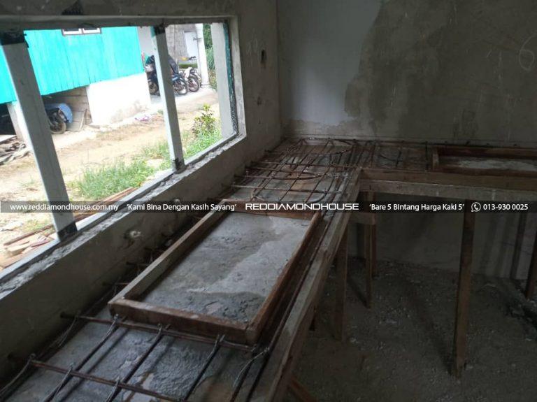 Bina Rumah Atas Sendiri Struktur Table Top 06