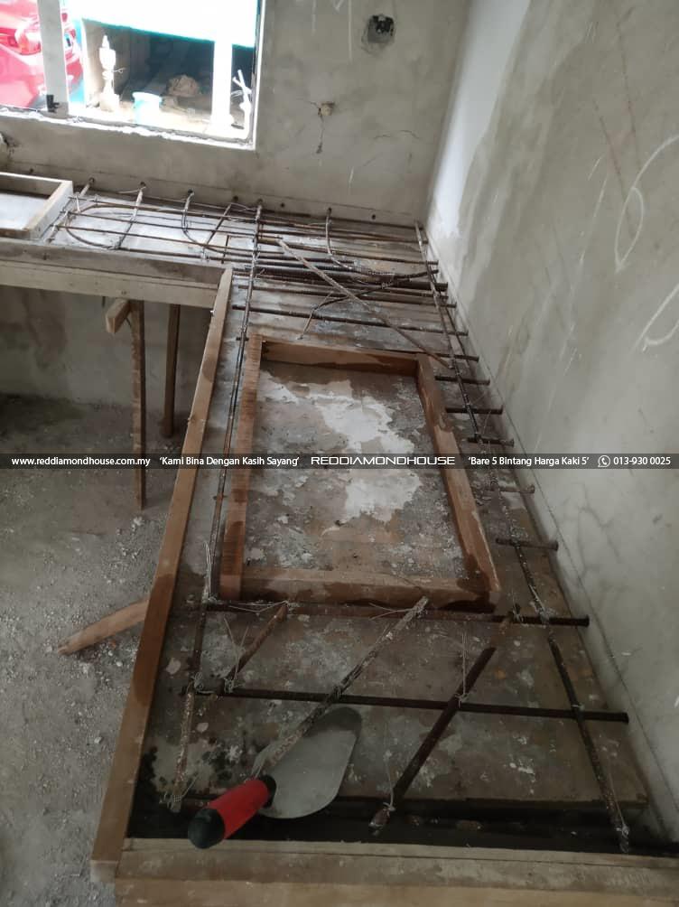 Bina Rumah Atas Sendiri Struktur Table Top 07