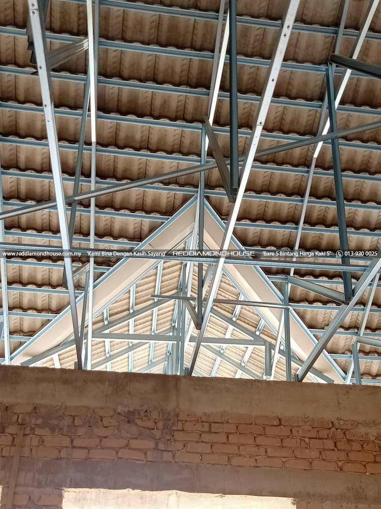 Bina Rumah Atas Sendiri bumbung 28