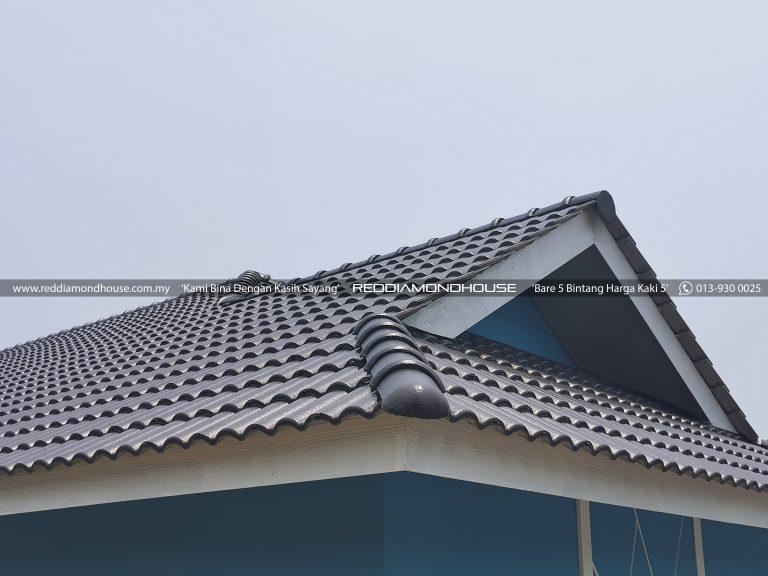Bina Rumah Atas Tanah Sendiri Bumbung 01
